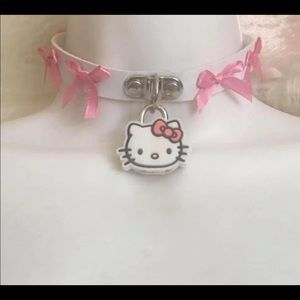 Jewelry - Hello Kitty Lock Choker